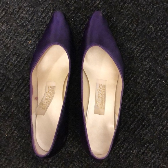 Bridesmaid Purple Dress Shoes